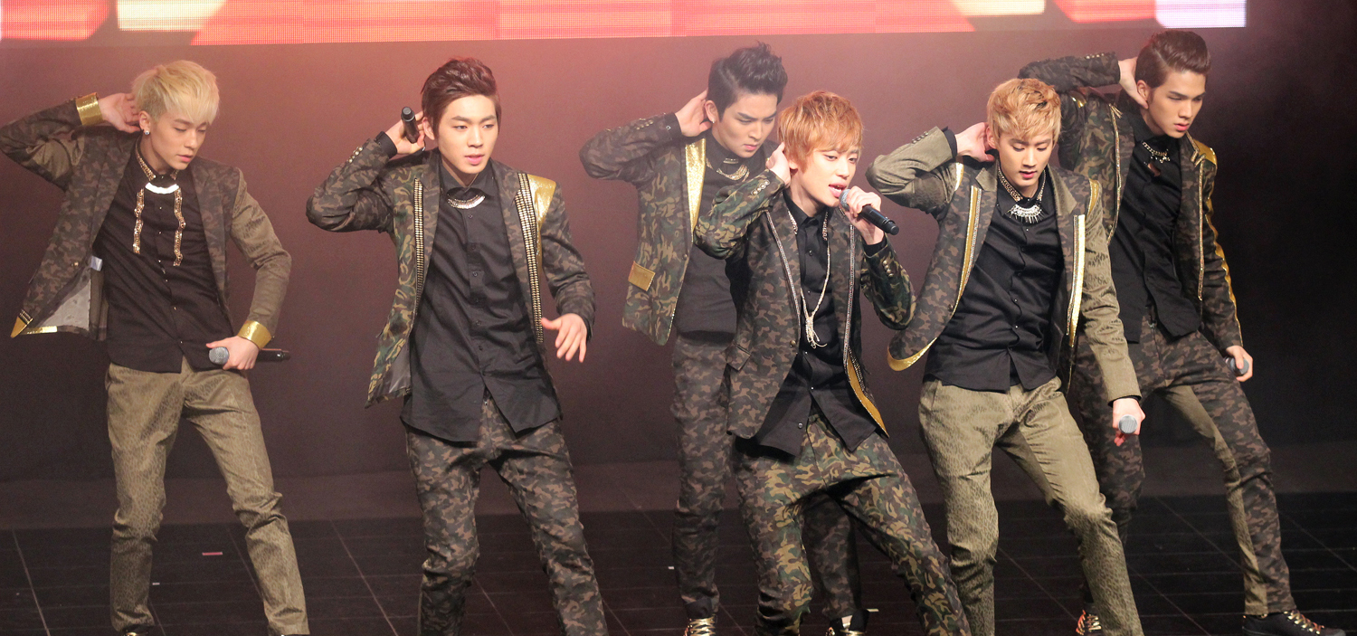 """Crazy"" for K-Pop in Europe: Teen Top in Germany, 2013"